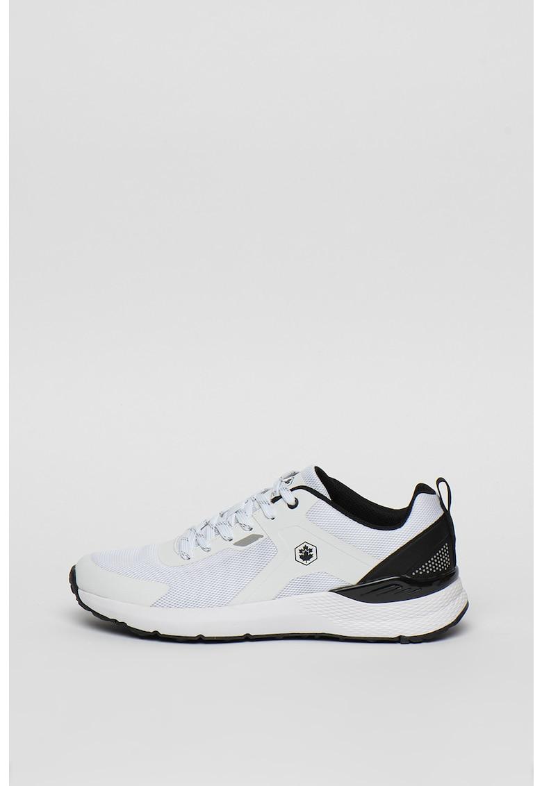 Pantofi sport din piele si piele ecologica Elite 3
