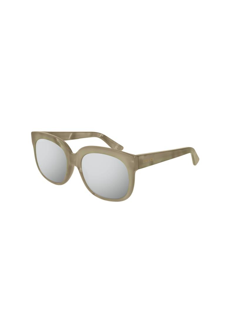 Ochelari de soare dreptunghiulari cu lentile in degrade poza fashiondays
