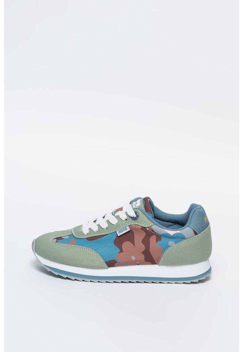 Pantofi sport cu model camuflaj Fiona imagine
