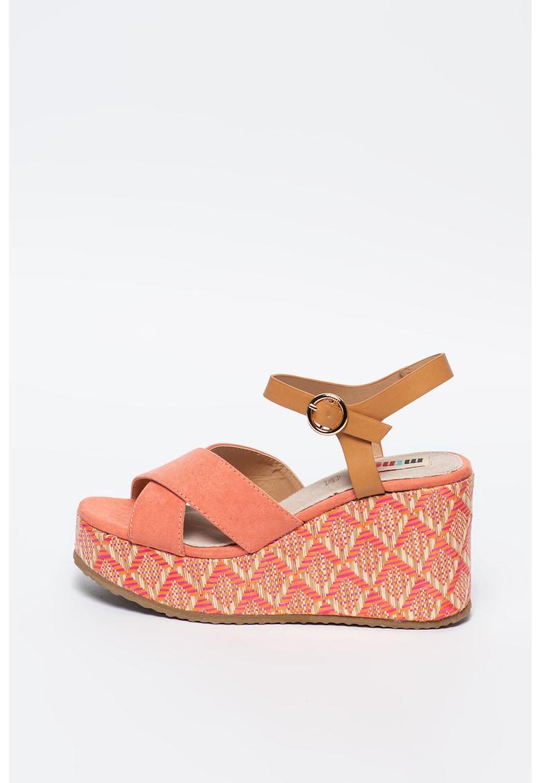 Sandale wedge Sandys