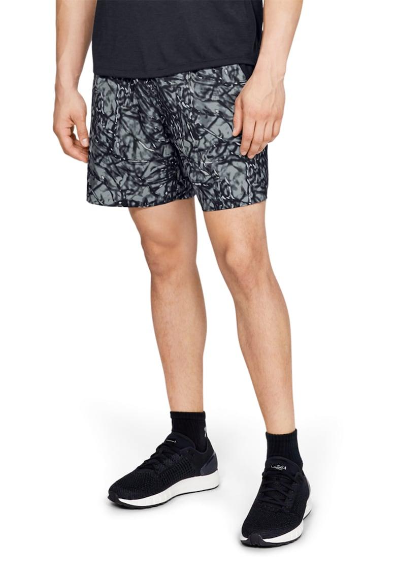 Pantaloni scurti cu imprimeu grafic - pentru alergare Launch
