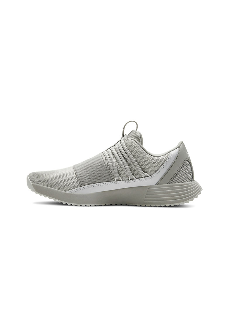 Pantofi sport de plasa cu garnituri de piele imagine