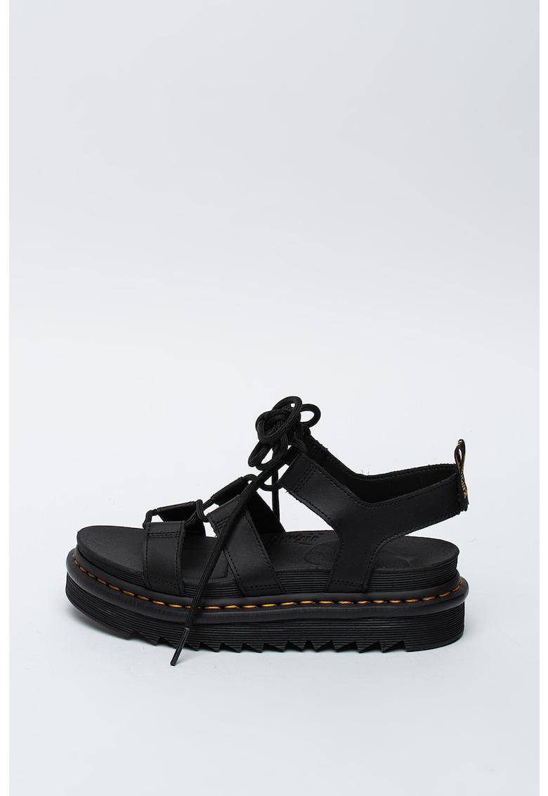 Sandale gladiator de piele Nartilla