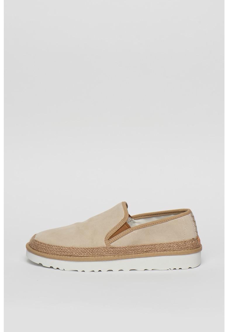 Pantofi sport cu insertii de piele intoarsa 2