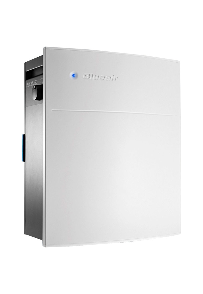 Purificator 203 Slim - Filtru SmokeStop (filtru particule+carbon) - recomandat pana la 22 m2 - Alb
