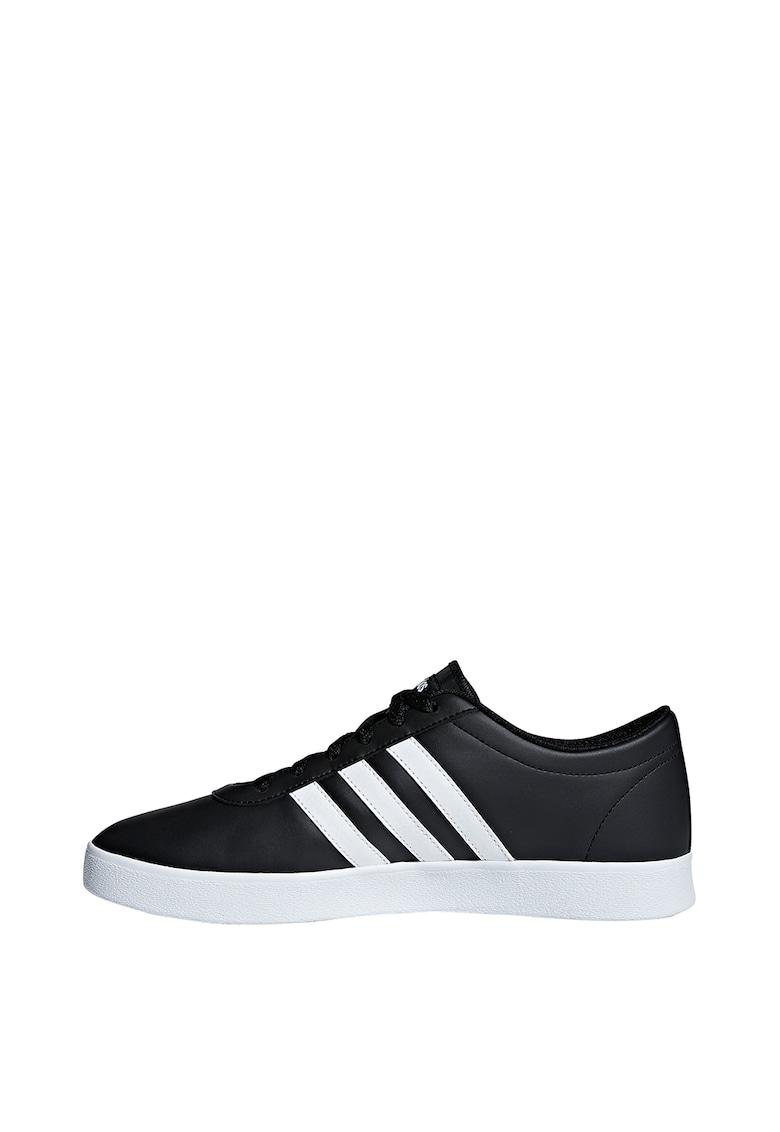 Pantofi din piele ecologica si material textil - pentru skateboarding Easy Vulc 2.0
