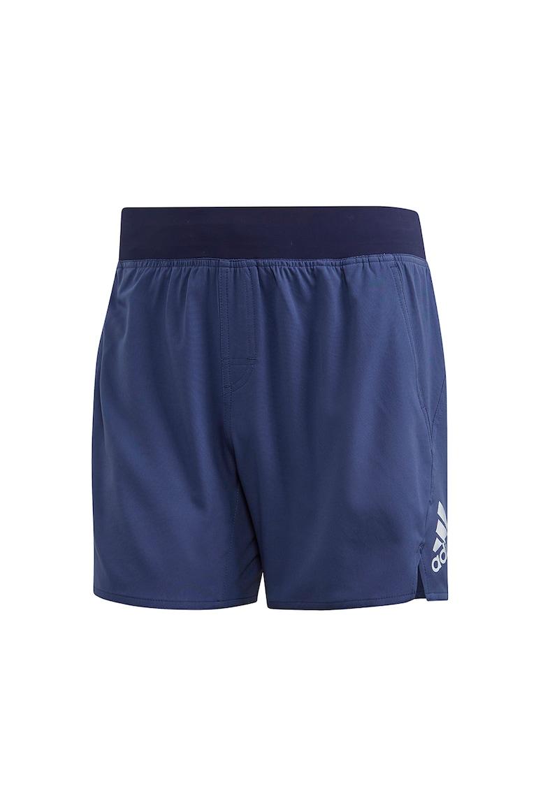 Pantaloni scurti cu imprimeu logo - pentru inot Tech imagine fashiondays.ro 2021