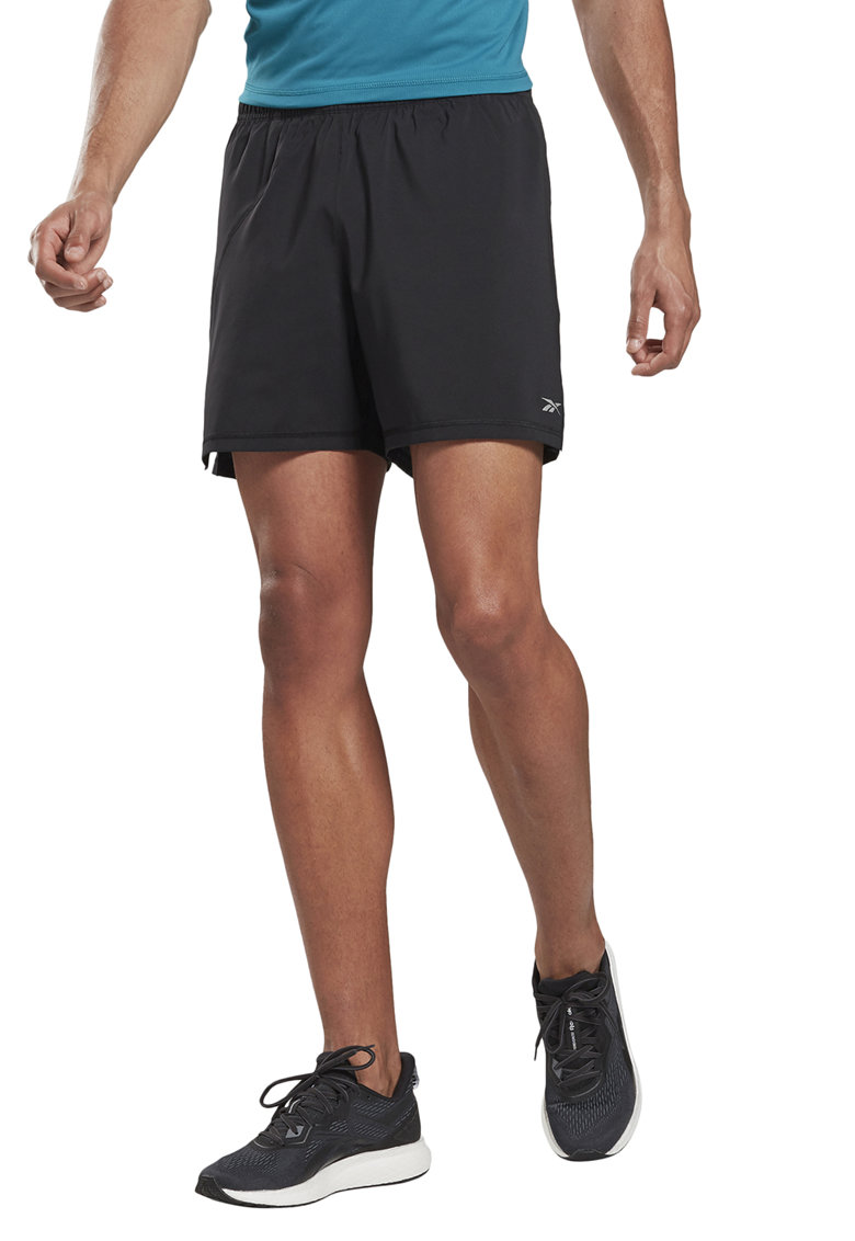 Pantaloni scurti cu detalii reflectorizante - pentru alergare