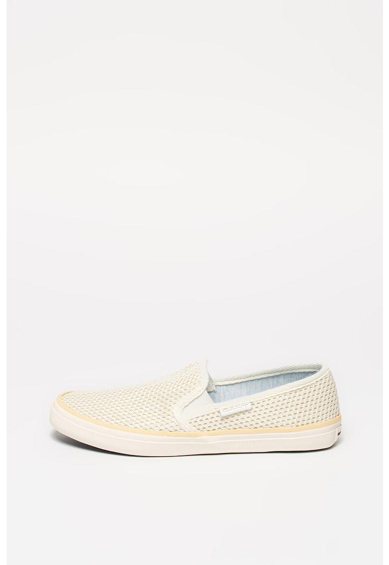 Pantofi slip-on de plasa tricotata Preptown