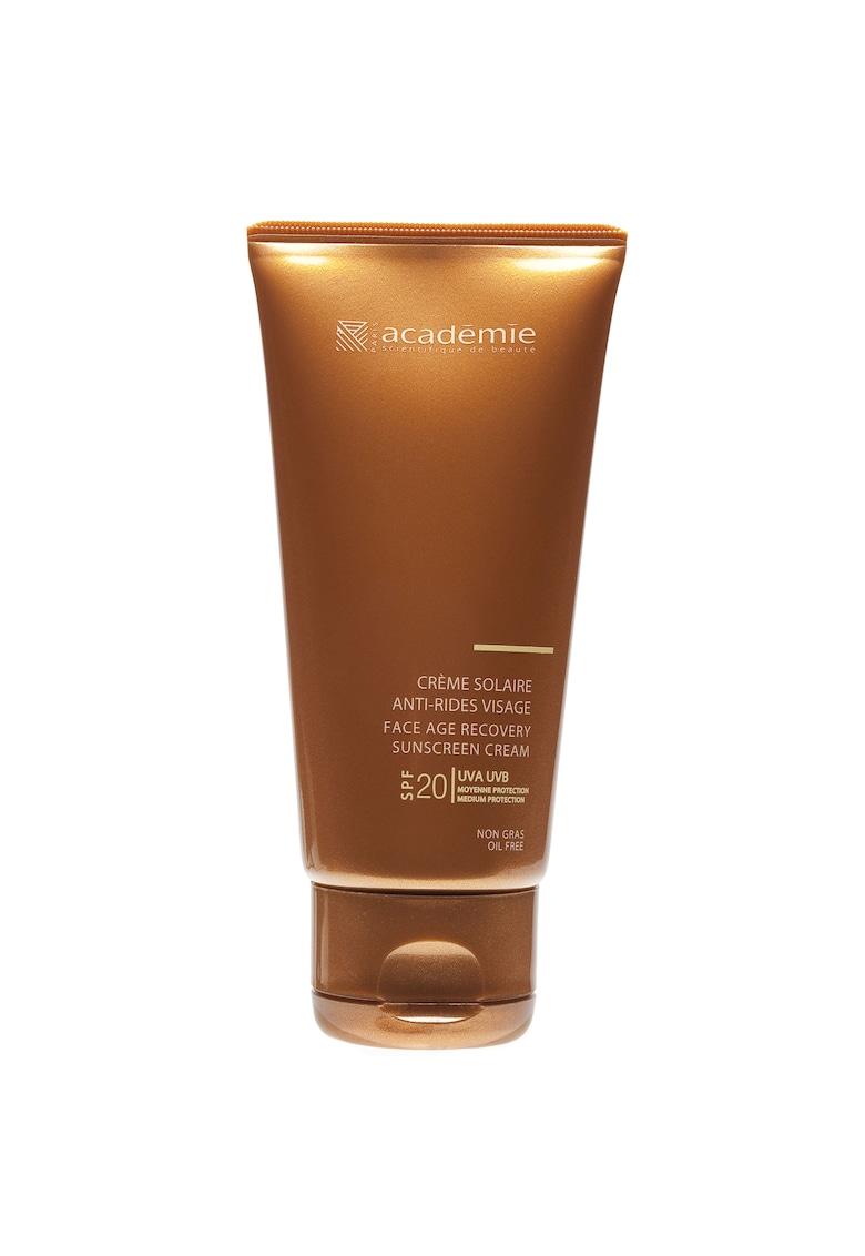 Crema de fata Bronzecran Antirid cu protectie solara SPF20 50ml imagine fashiondays.ro