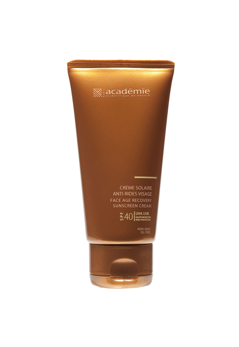 Crema de fata Bronzecran Antirid cu protectie solara SPF40 50ml