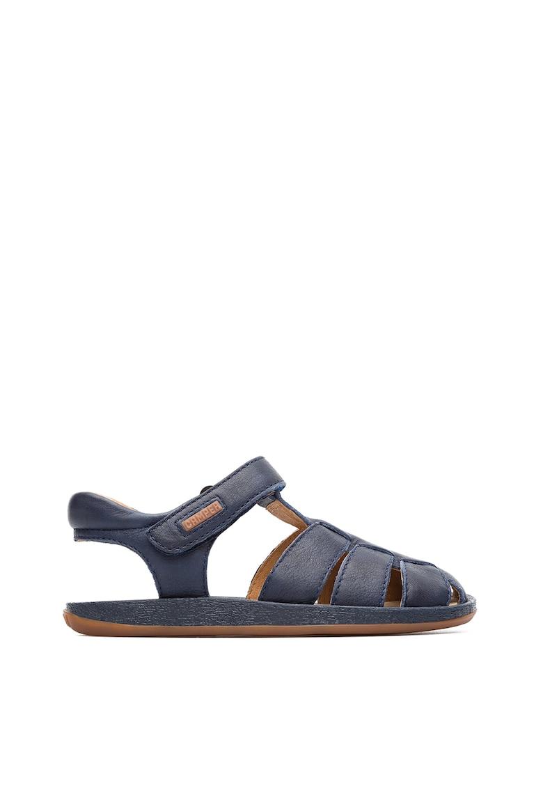 Sandale de piele cu decupaje