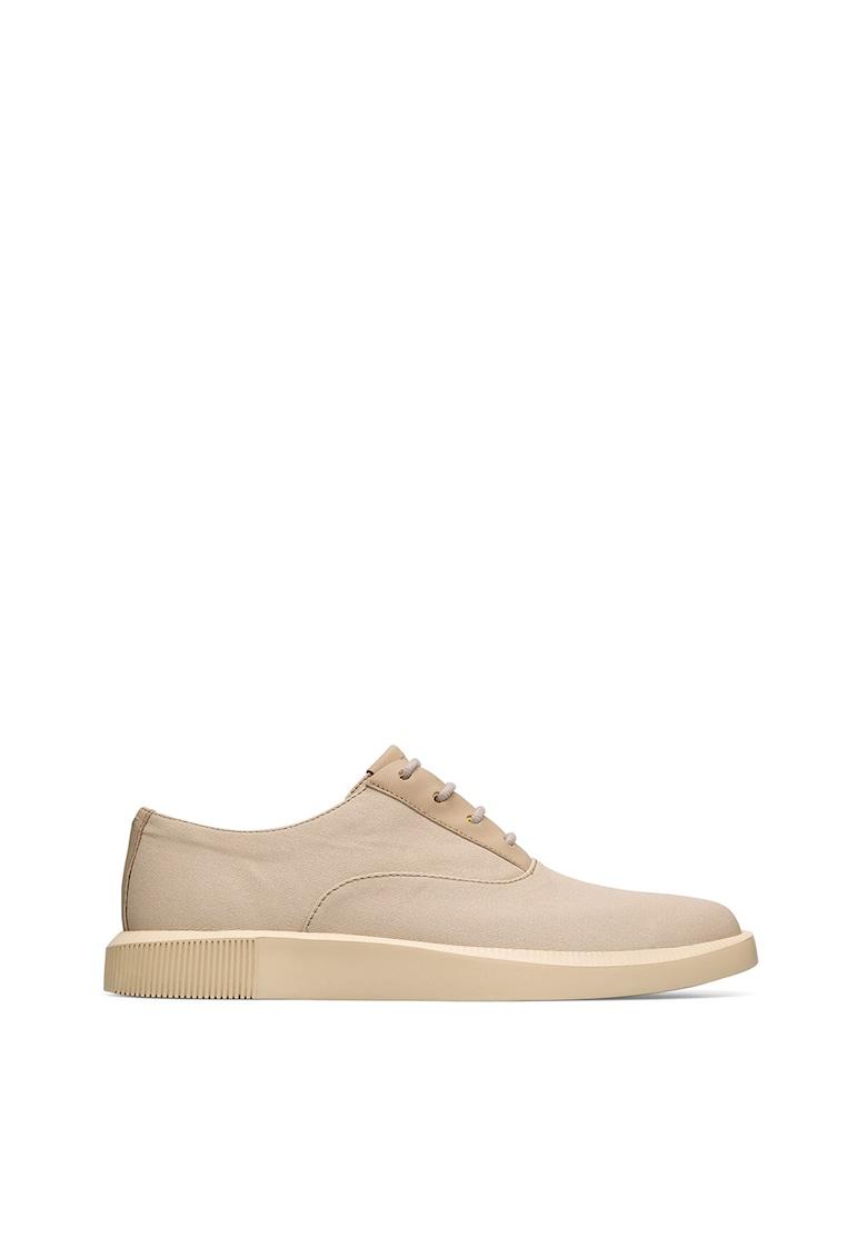 Pantofi oxford cu garnituri de piele Bill