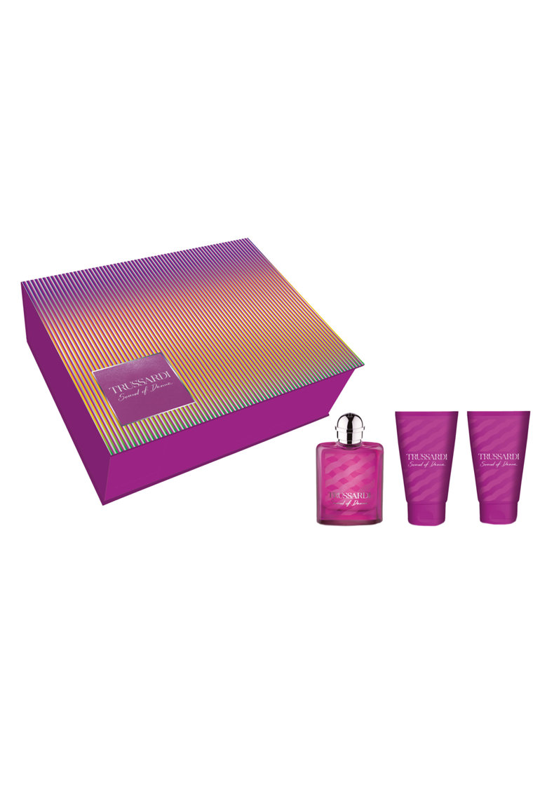 Set Sound of Donna Stripes - Femei: Apa de Parfum - 30 ml + 2x Lotiune de corp - 30 ml