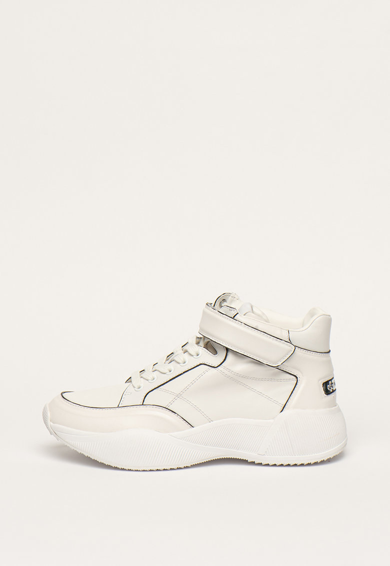 Pantofi sport high-top de piele Bradlee