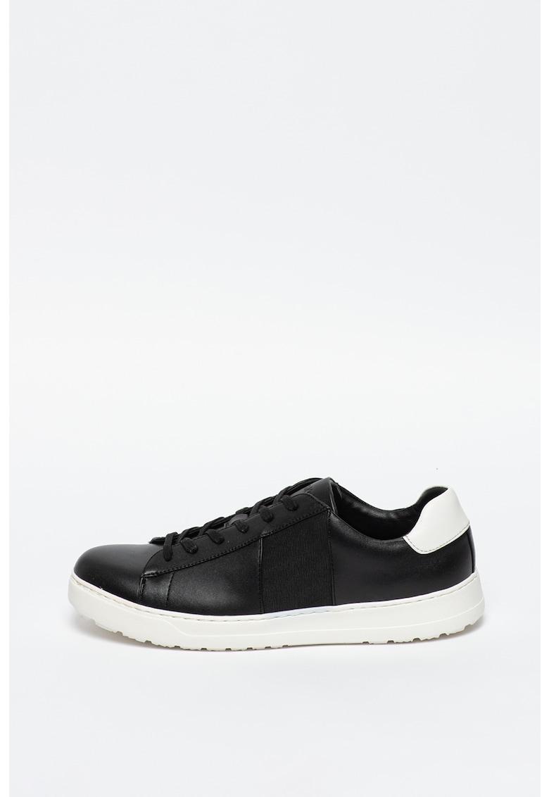 Pantofi sport de piele ecologica - cu garnituri de piele intoarsa ecologica Alen 2