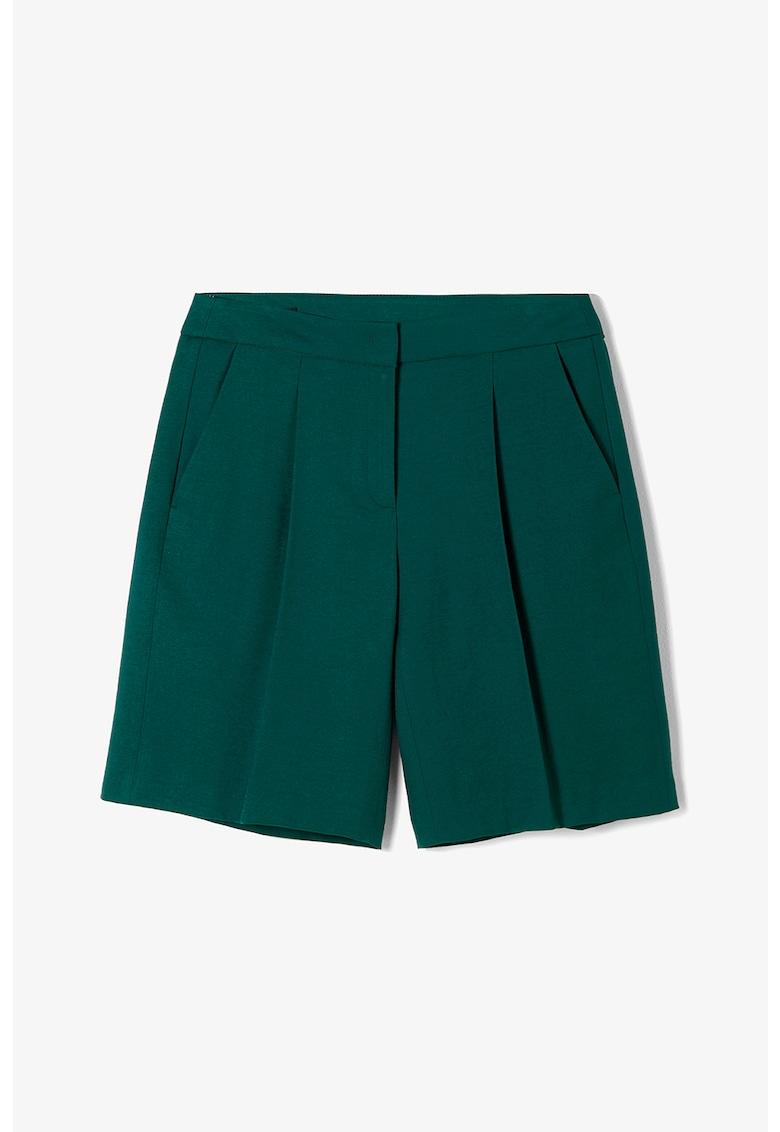 Pantaloni scurti cu buzunare oblice s.Oliver fashiondays.ro