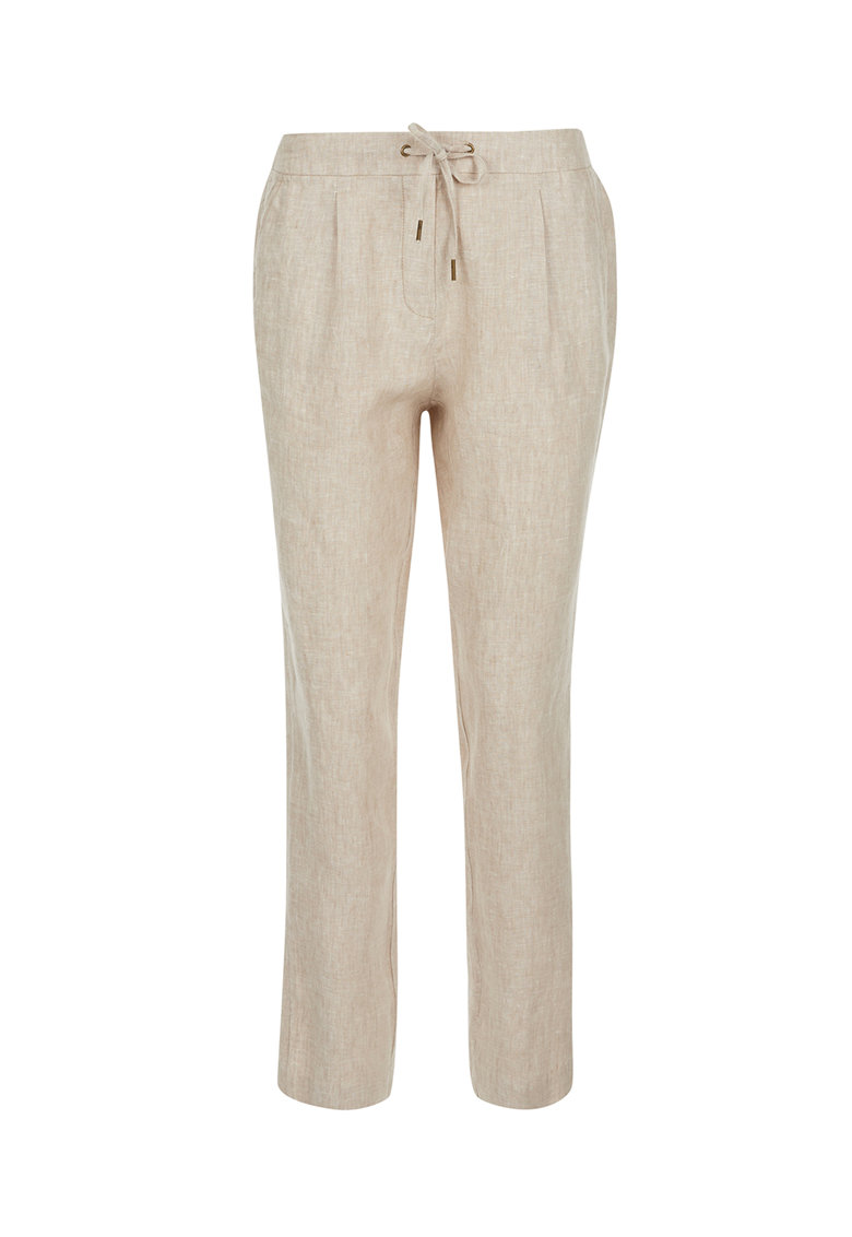Pantaloni cu snur de ajustare imagine fashiondays.ro