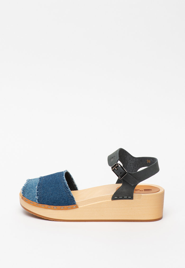 Sandale din denim Loasa