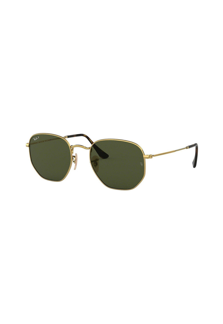 Ochelari de soare hexagonali unisex cu lentile polarizate imagine fashiondays.ro Ray-Ban