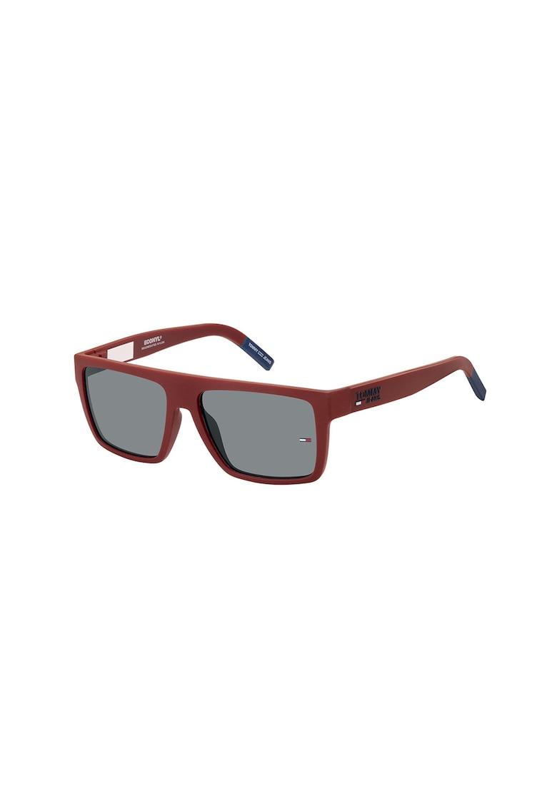 Ochelari de soare dreptunghiulari unisex cu lentile polarizate imagine fashiondays.ro