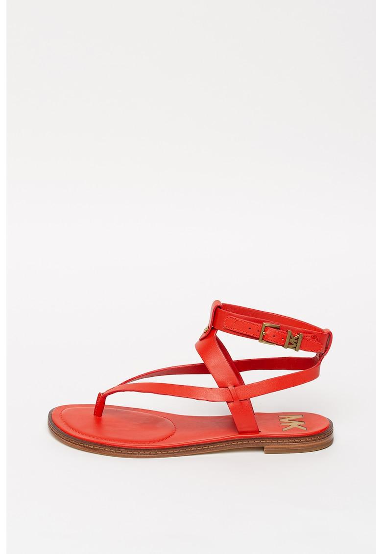 Sandale de piele cu barete multiple Pearson