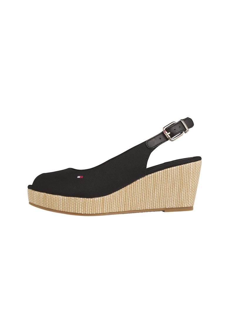 Sandale wedge tip espadrile