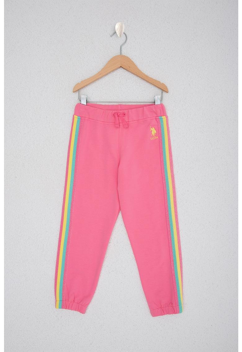 Pantaloni sport cu snur in talie