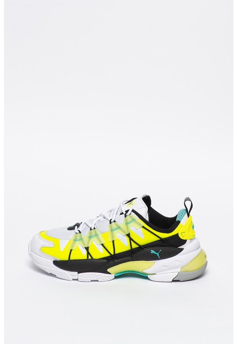 Pantofi sport unisex cu model colorblock LQD Cell Omega Lab 1