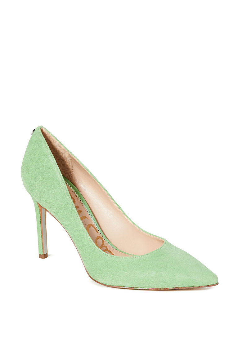 Pantofi stiletto de piele intoarsa Hazel Sam-Edelman imagine 2021