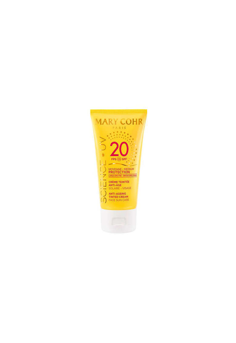 Mary Cohr Crema de fata nuantatoare  cu protectie solara Science UV SPF20 50ml