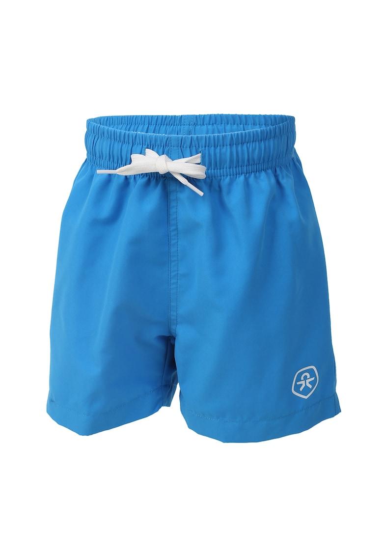 Pantaloni scurti de baie cu detaliu logo imagine promotie