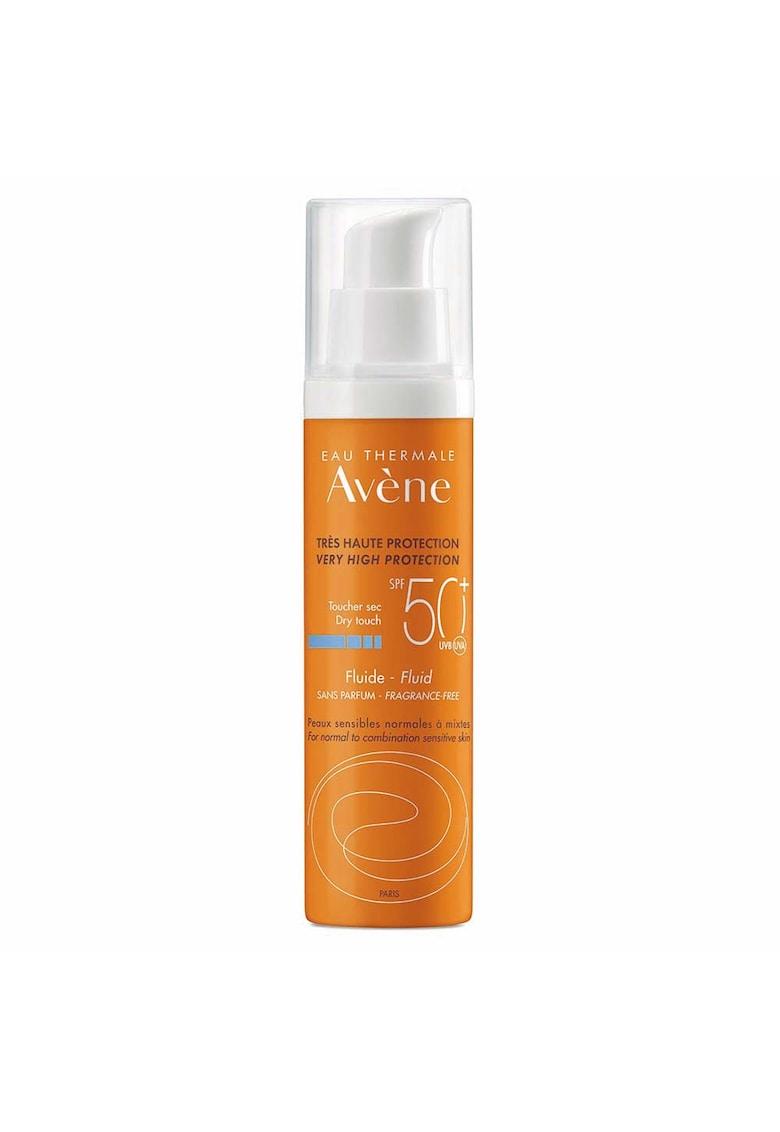 Lotiune cu protectie solara SPF 50+ pentru piele normala si mixta - fara parfum - 50 ml imagine fashiondays.ro