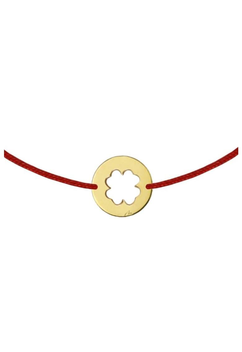 Bratara cu talisman placat cu aur de 14K imagine fashiondays.ro MALVENSKY