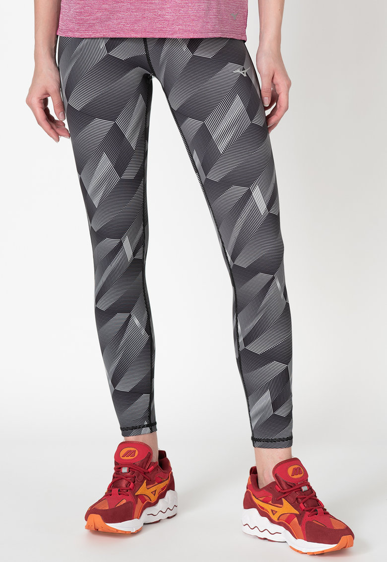 Colanti cu imprimeu geometric - pentru alergare Reversible
