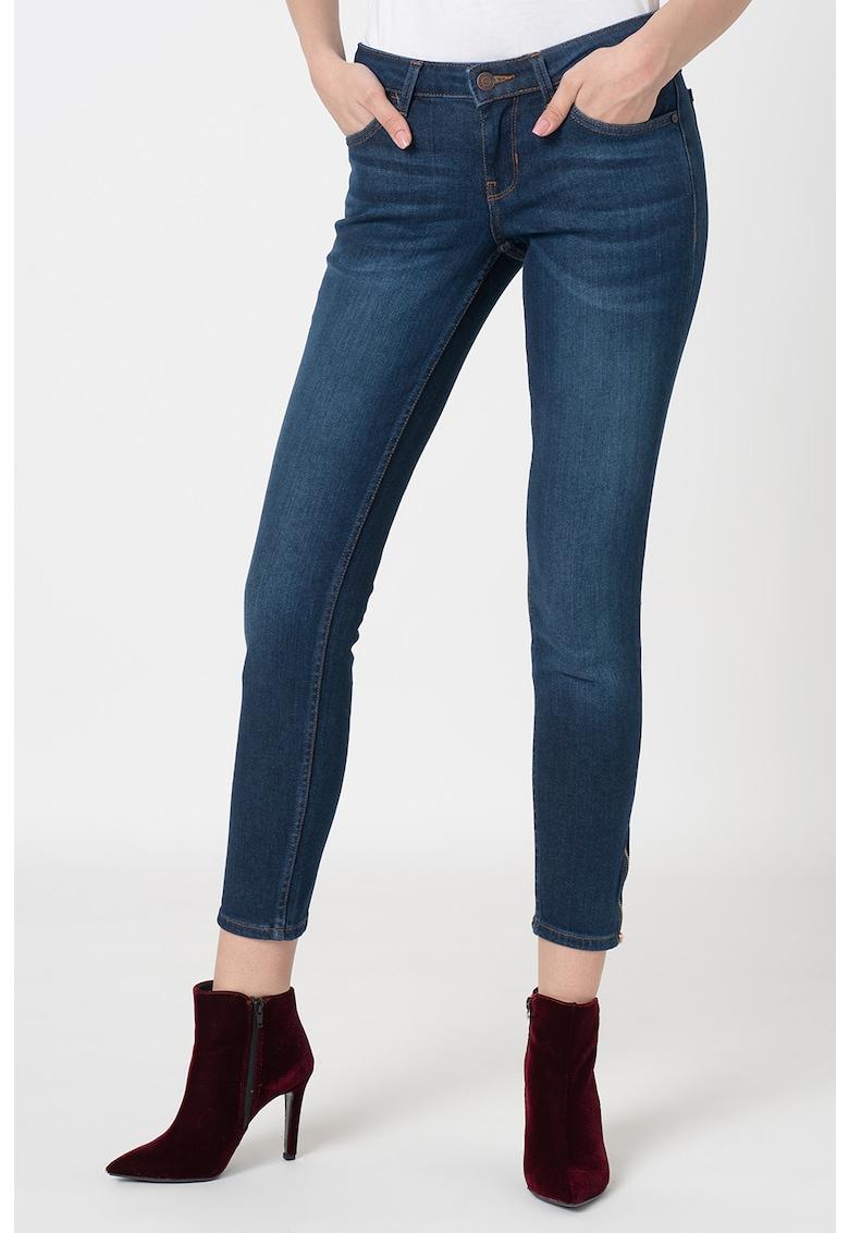 Pantaloni crop skinny