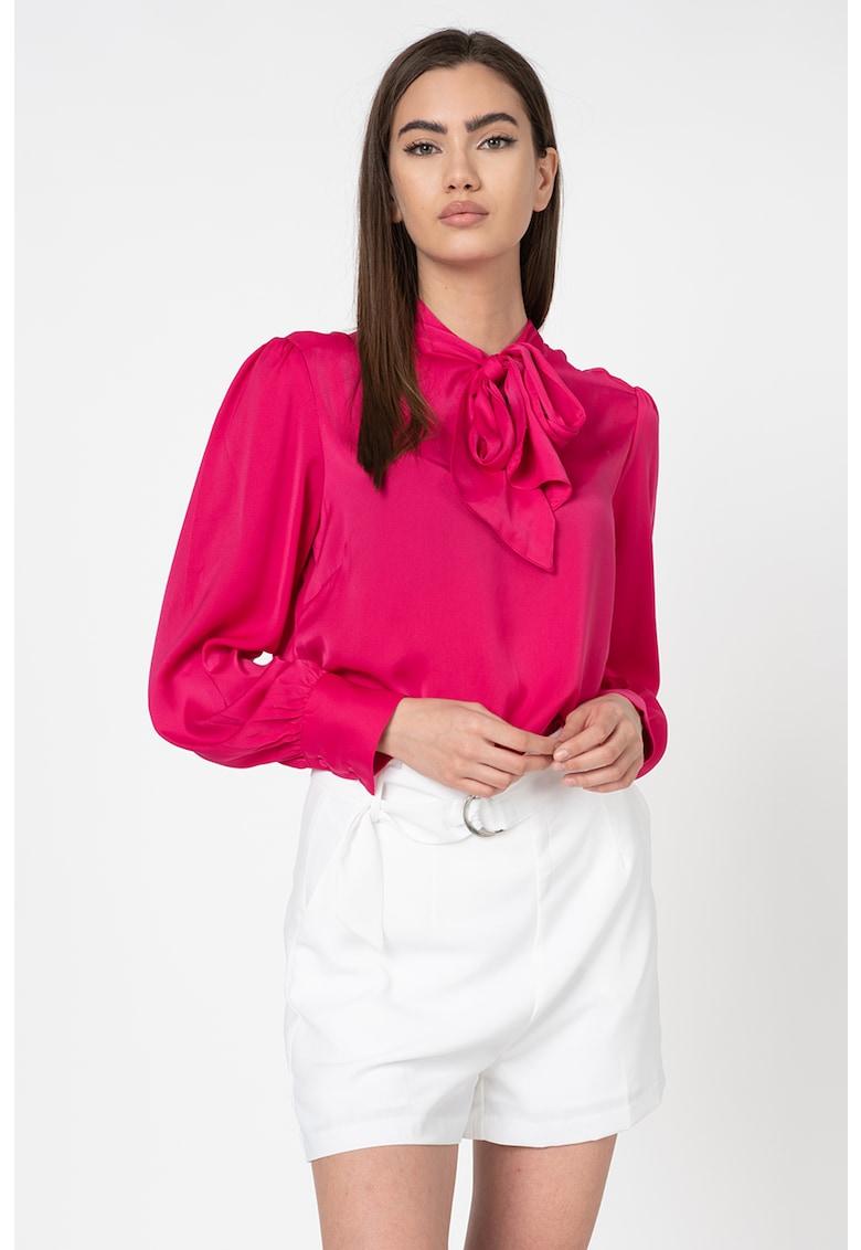 Bluza cu aspect satinat imagine