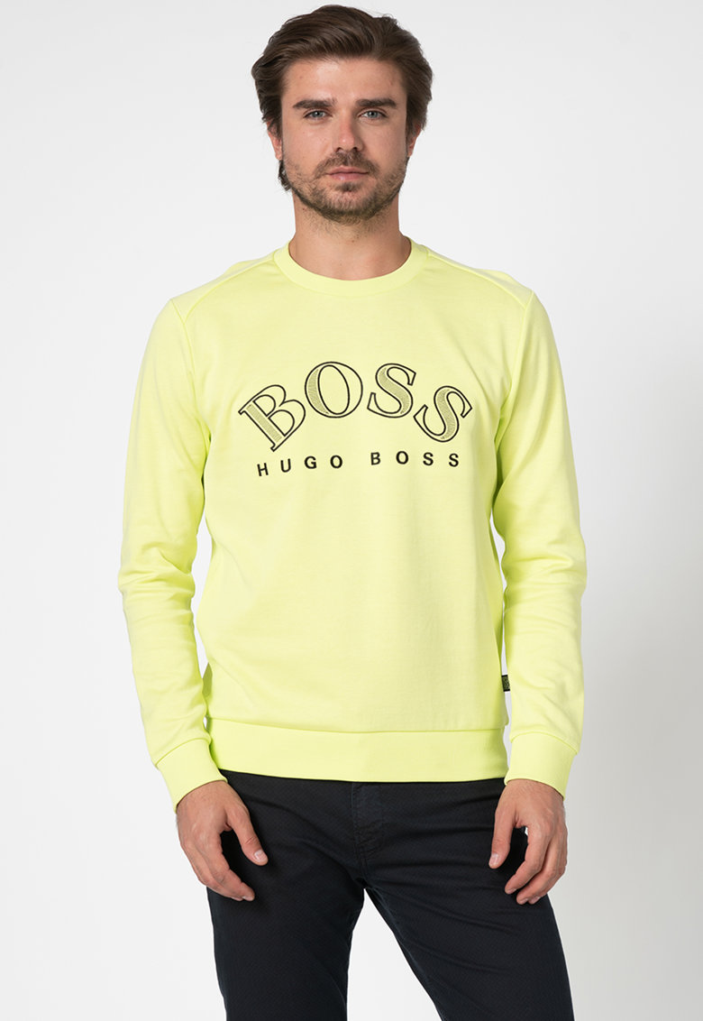 Bluza sport cu broderie logo Salbo imagine