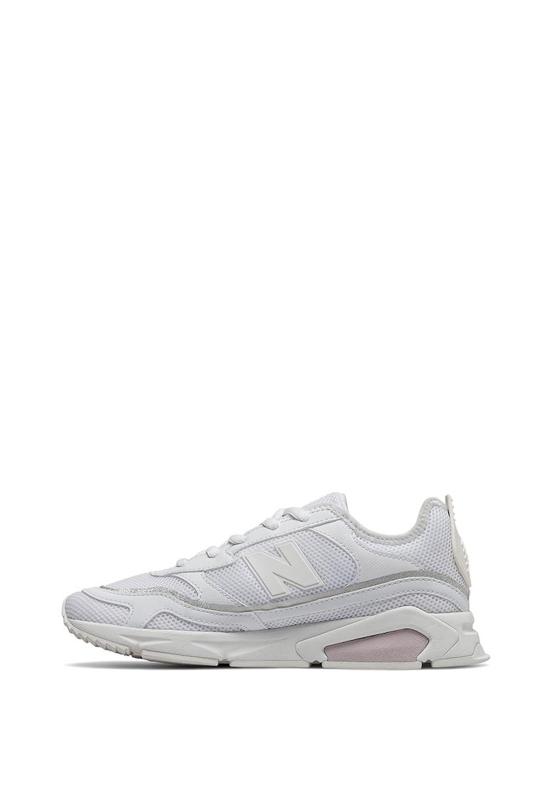 Pantofi sport de piele ecologica cu insertii de plasa X-Racer fashiondays.ro