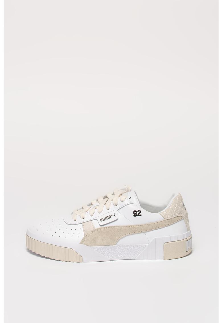 Pantofi sport de piele cu insertii de piele intoarsa Cali