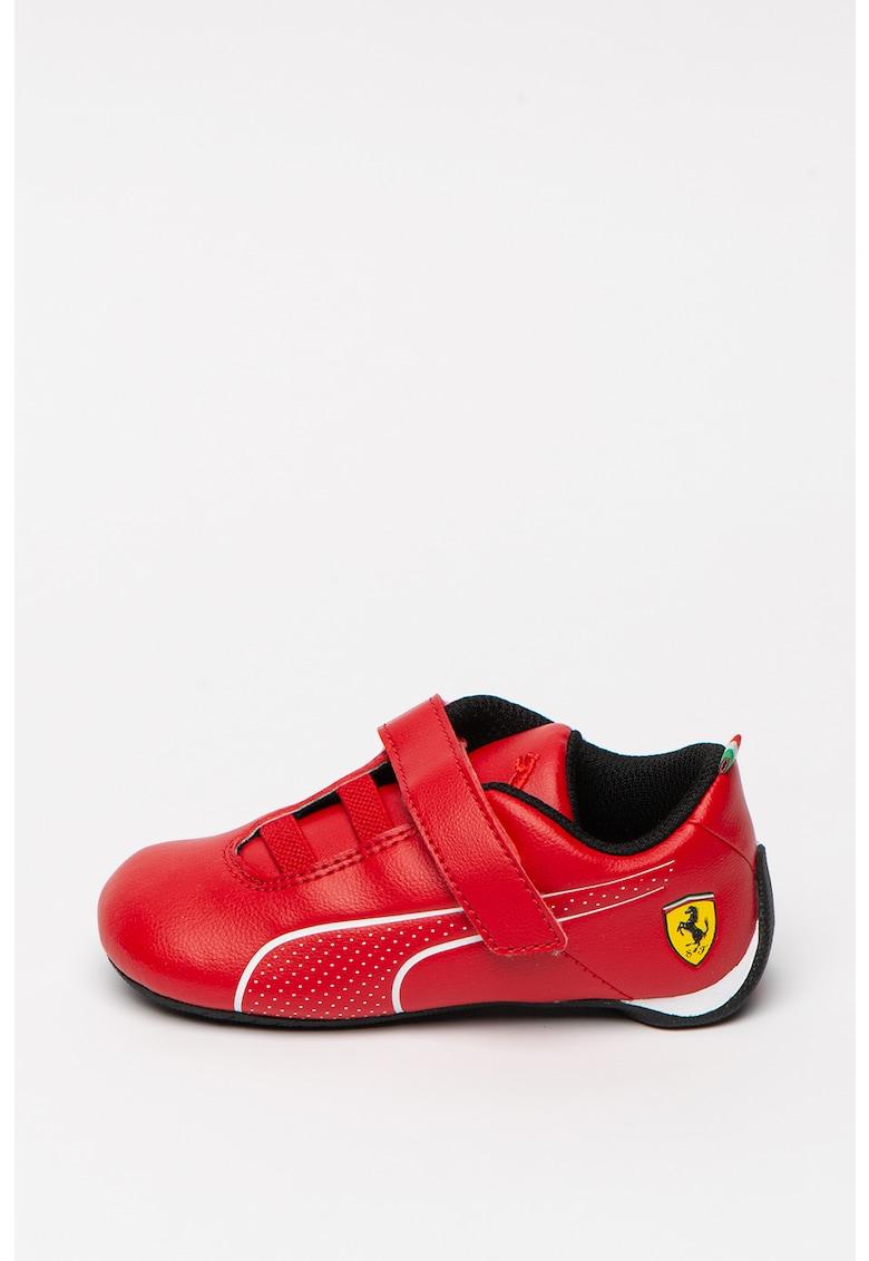 Pantofi sport de piele ecologica cu velcro SF Future Cat