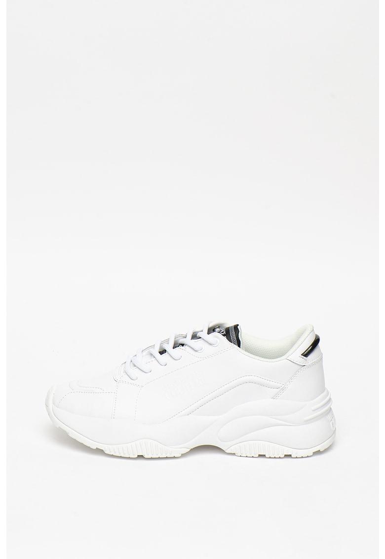 Pantofi sport cu insertii de piele