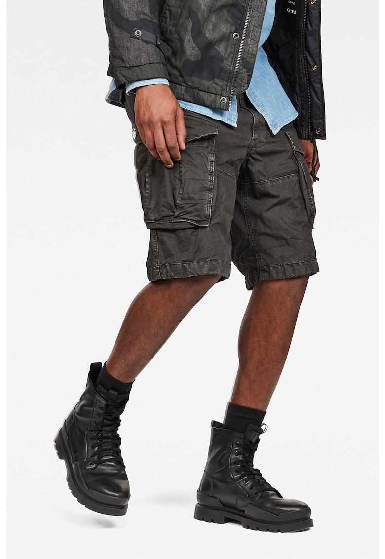 Pantaloni scurti cargo cu snur pentru ajustare