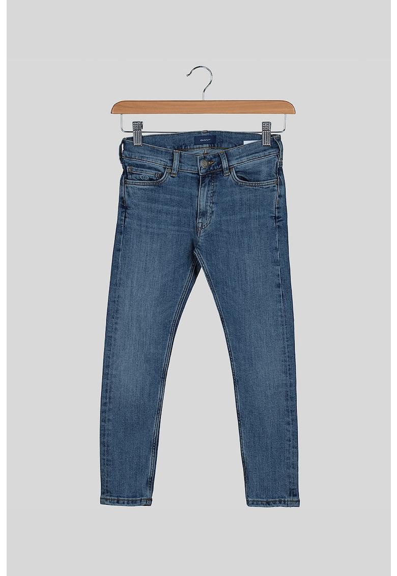 Blugi skinny cu 5 buzunare imagine fashiondays.ro 2021