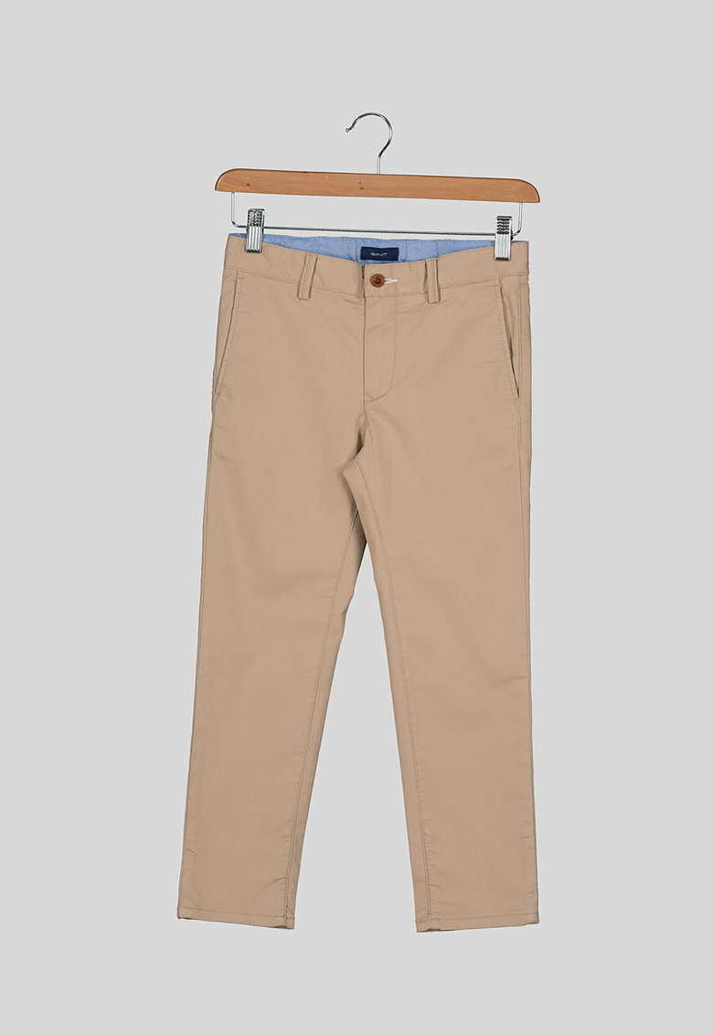 Pantaloni chino cu buzunare oblice poza fashiondays