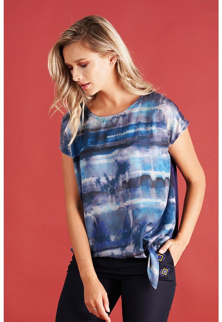 Bluza cu imprimeu abstract Format Lady fashiondays.ro