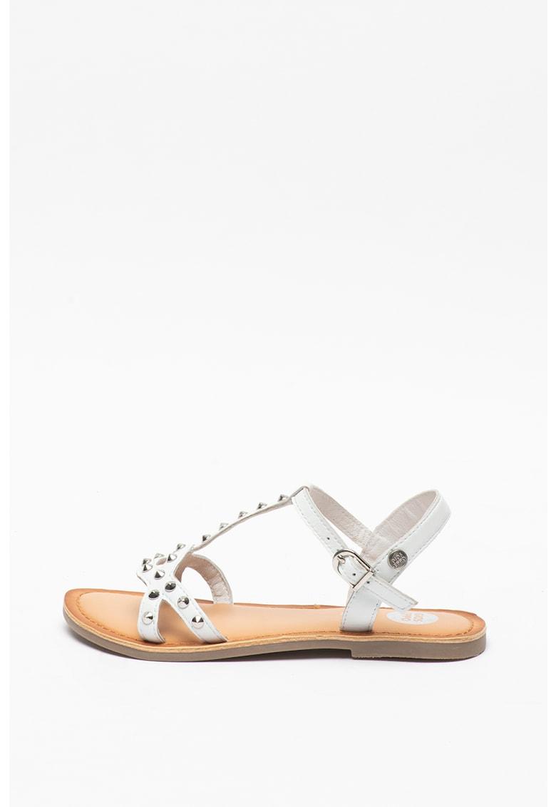 Sandale de piele cu tinte Habay