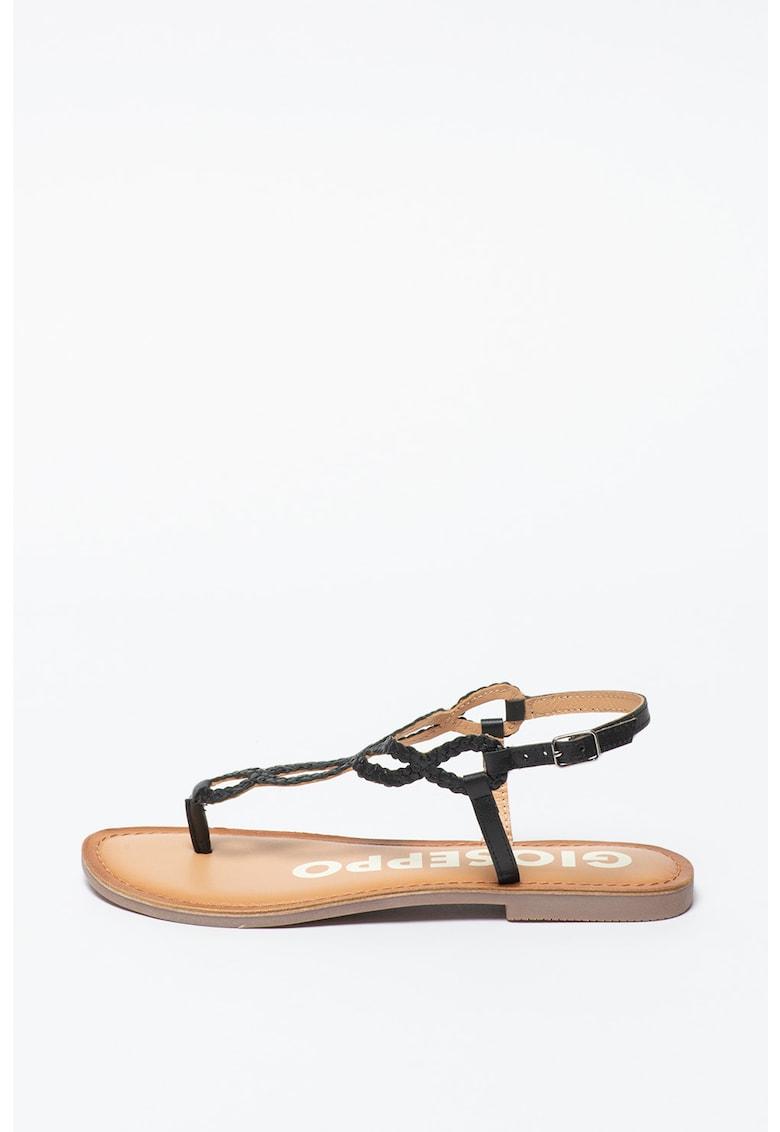 Sandale de piele cu bareta separatoare Fyffe fashiondays.ro