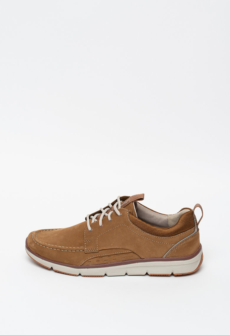 Pantofi casual din piele nabuc Orson Bay imagine