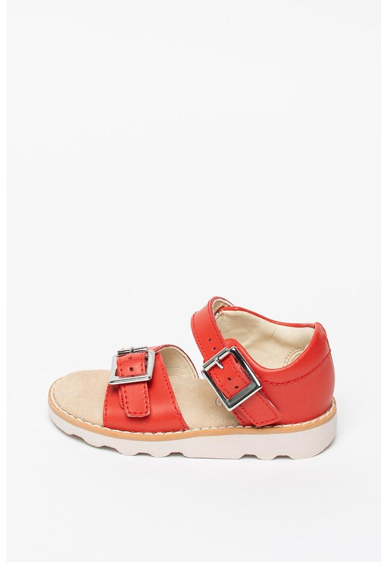 Sandale de piele Crown Bloom